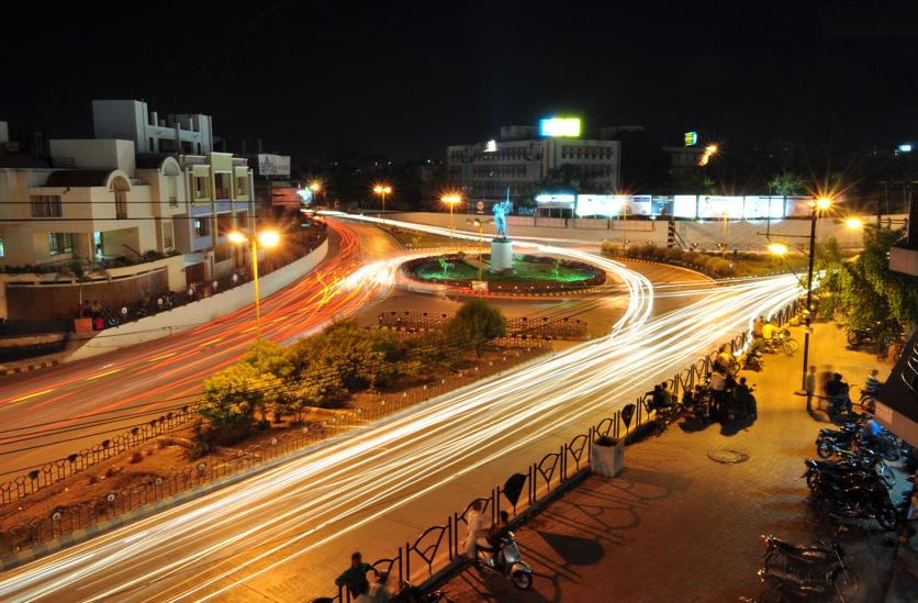 Underbridge Circle Rajkot